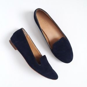 "J. Crew Navy Blue ""Cora"" Slip On Loafers Size 6.5"